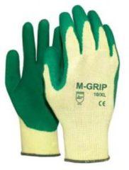 Groene M-Safe M-Grip 11-540 Handschoen Polyester / Katoen