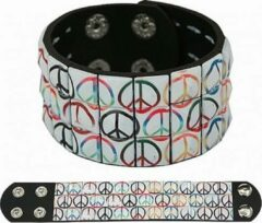 Fun & Feest Party Gadgets Hippie armband peace