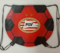 Rode PSV Voetbal PSV Gymtas in vorm van voetbal