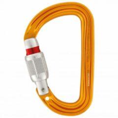 Oranje Petzl Sm'D - Screw lock Utralichte D-vormige karabiner