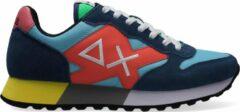 Sun68 Heren Lage sneakers Jaki Party Time Men - Blauw - Maat 46