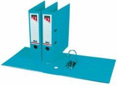 Ordner Quantore a4 80mm pp turquoise - set 10 stuks