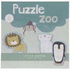 Little Dutch legpuzzel dieren 6 stuks legpuzzel 5 stukjes