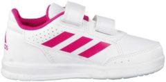 Rosa Sportschuhe AltaSport CF I mit einstellbaren Riemen BA9515 adidas performance ftwr white/bold pink/ftwr white