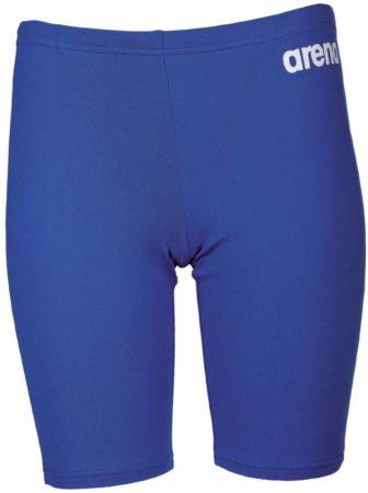 Afbeelding van Blauwe Arena Solid Jammer Zwemshort Junior Zwembroek - Maat 164 - Unisex - blauw