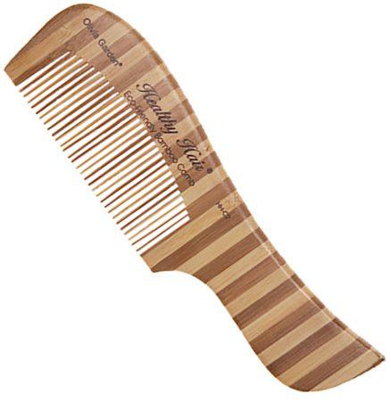 Afbeelding van Olivia Garden Healthy Hair Bamboo Collection Bamboo Comb 2 Kam Hh-c2 1stuks