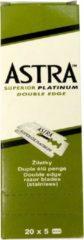 Astra Superior Platinum scheermesjes - Double Edge Blade (doos 20x5)