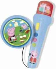 PEPPA PIG handmicrofoon met versterker en ritme