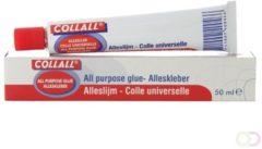 Collall Lijm tube alleslijm 50 Milliliter 1 Doos met 12 Tubes