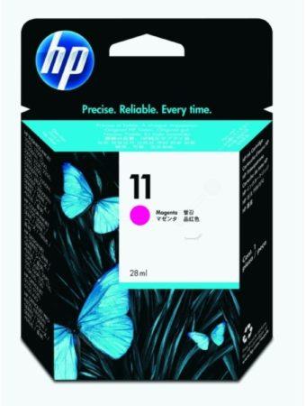 Afbeelding van HP inktcartridge 11, 1 200 pagina's, OEM C4837AE, magenta