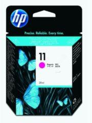 HP inktcartridge 11, 1.200 pagina's, OEM C4837AE, magenta