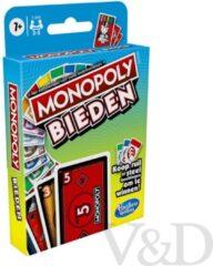 Hasbro Gaming Monopoly Bieden kaartspel