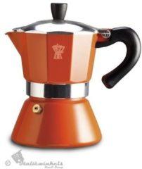Bialetti Voccelli inductie - koffiepotje - caffettiera - 6 kopjes - Oranje