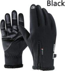 Zwarte GAFASTWO Premium Handschoenen - Sporthandschoenen - Touchscreen - Winddicht - Anti-Slip - Ski Handschoenen - Maat S