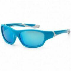 KOOLSUN - Sport - Kinder zonnebril - Aqua White - 3-8 jaar - UV400 - Categorie 3