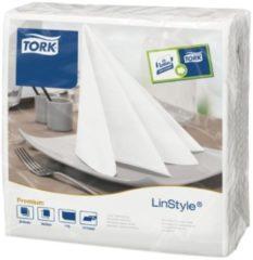 Servetten Tork 478711 LinStyle 1laags 39x39cm wit 50st.