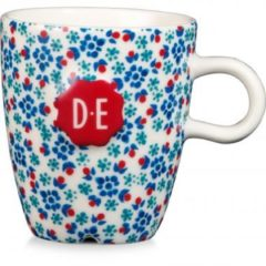 Blauwe Douwe Egberts Dutch Indigo mokje - 15 cl - sweet flowers