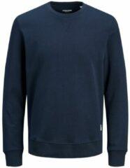 JACK & JONES Basic Crew-neck Sweatshirt Heren Blauw