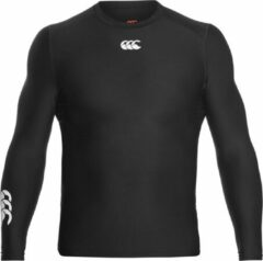 Canterbury Thermoreg LS Top - Thermoshirt - zwart - L
