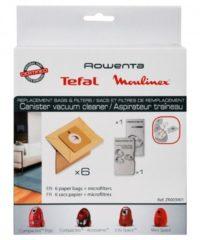 Moulinex, Rowenta Rowenta ZR003901 Staubsaugerbeutel