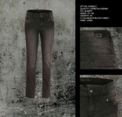 Blauwe New Star dames jeans Annecy black denim - maat 29/32