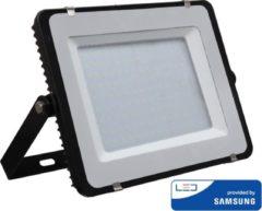 Zwarte LED Breedstraler 150 Watt 4000K Samsung IP65 5 jaar garantie