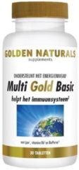 Golden Naturals Multi Gold Basic (30 vegetarische tabletten)