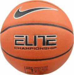 Nike Elite Championship 8-Panel BB0403-801, Unisex, Oranje, Basketbal, maat: One size EU