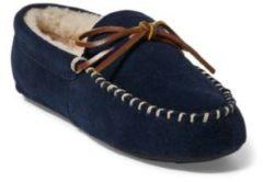 Blue Pantofole Markel II in camoscio