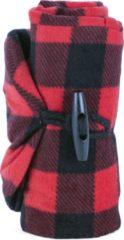 Rode Kikkerland Opblaasbare nekkussen - Ideaal voor onderweg - In de auto en vliegtuig