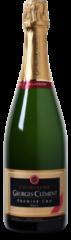 Donkerrode Wijnvoordeel Georges Clement Champagne AC 1er Cru Brut