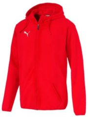 Sweatjacke Liga Casuals Hoody Jacket 655771-02 mit dryCELL-Technologie Puma Puma Red-Puma White