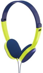 "Hama Kinderkoptelefoon ""Kids"", on-ear, volumebegrenzing, blauw/groen"