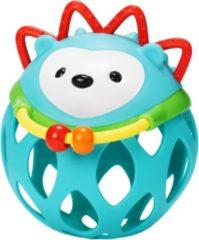 Blauwe Skip hop Egel met rinkelende ballen