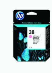 HP inktcartridge 38, 440 tot 605 foto's, OEM C9419A, licht magenta