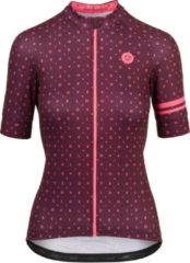 Bordeauxrode Agu Essential Velo Love Jersey Shirt Dames Bordeaux