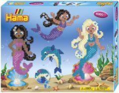 Hama -Strijkkralenpakket - Gift Box Mermaid - 4000 stuks - Inclusief Edelstenen