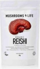 Mushrooms4Life / Reishi Paddestoel Poeder Biologisch – 60 gram