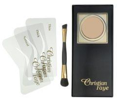 Bruine Christian Faye Eyebrow Make Up wenkbrauwpoeder - Taupe