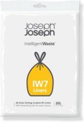 Joseph Joseph Intelligent Waste Afvalzak IW7 - Kunststof - 20 liter - Grijs