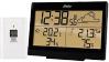 Alecto WS-2300 Stijlvol weerstation | Draadloze buitensensor, Groot verlicht display | zwart