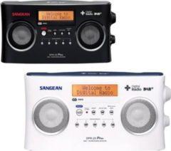Sangean DPR-25+ DAB+ und UKW Stereo Radio mit RDS, 2 Farben Farbe: Weiß