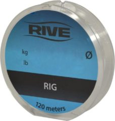 """Licht-grijze """"Rive Rig Line - 120m - 0.115mm - Lichtgrijs - """""""