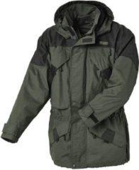 Pinewood - Lappland Extrem Jacke - Regenjack maat M, zwart/olijfgroen