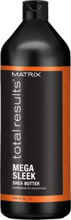 Afbeelding van Matrix Total Results Mega Sleek Conditioner 1000ml Matrix Total Results Mega Sleek Shea Butter Conditioner Weerbarstig Haar 1000ml