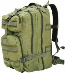 SJ interiors Backpack Rugzak Groen 50L (INCL Toiletbril doekjes)- Militaire leger tas - Plunjezak - Sporttas - Plunje rugzak