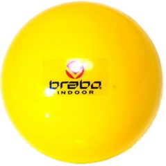 Gele Brabo Indoor Ballen met Blister - Geel