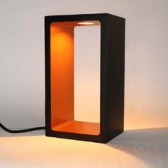 Artdelight - Tafellamp Corridor - Zwart / Goud - LED 6W 2700K - IP40 - 3-stappen Dimmer > lampen staand led | tafellamp zwart goud | tafellamp slaapkamer | tafellamp woonkamer | led lamp