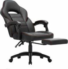 Zwarte Milo Labels Milo Bureaustoel - Gaming stoel - Ergonomische Bureaustoel - Verstelbaar - Bureaustoelen voor volwassenen