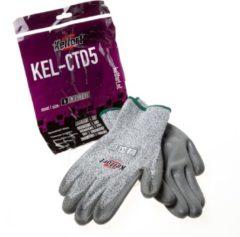 Grijze Kelfort Handschoen snijbest.kl.5 mt.8
